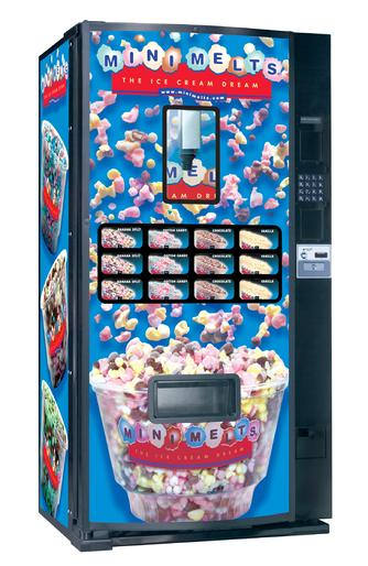 mini melts vending machine